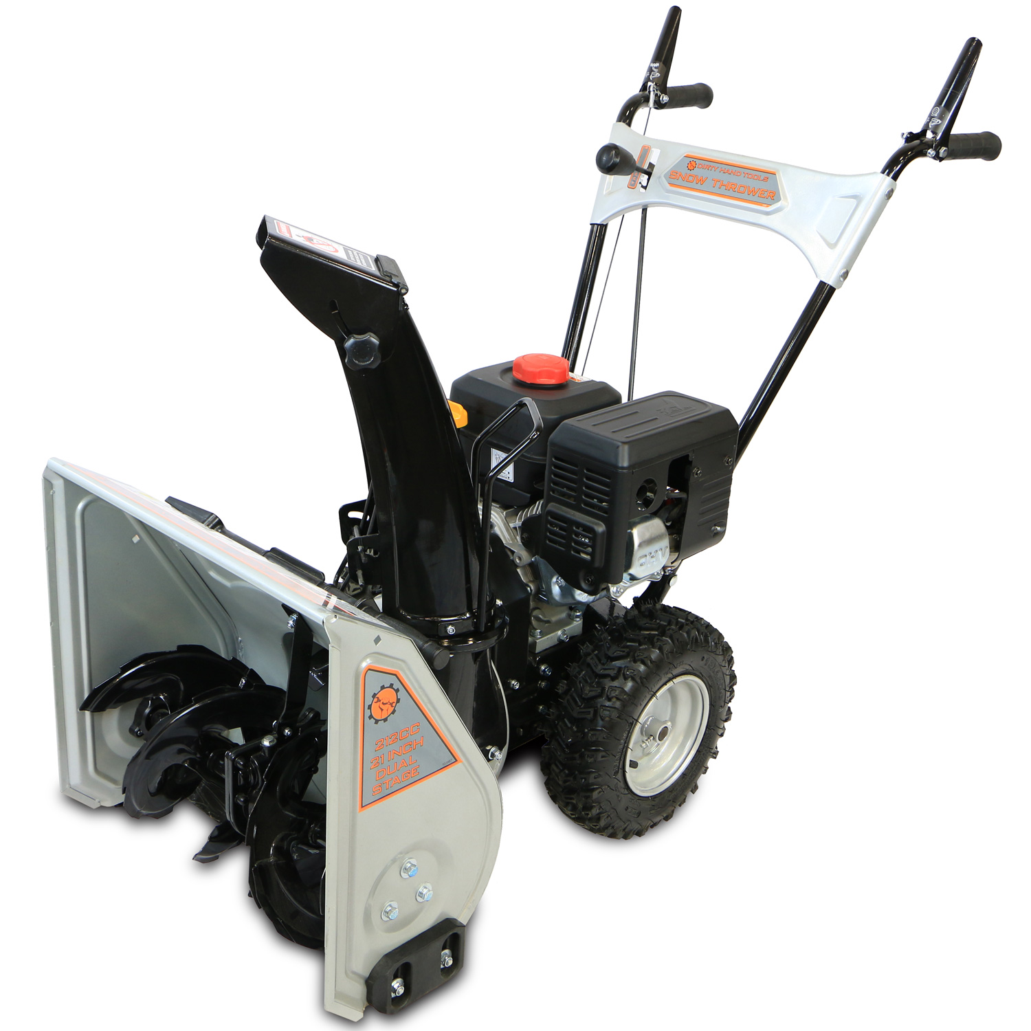 Two Stage Blower : ″ dual stage snow blower dirty hand tools