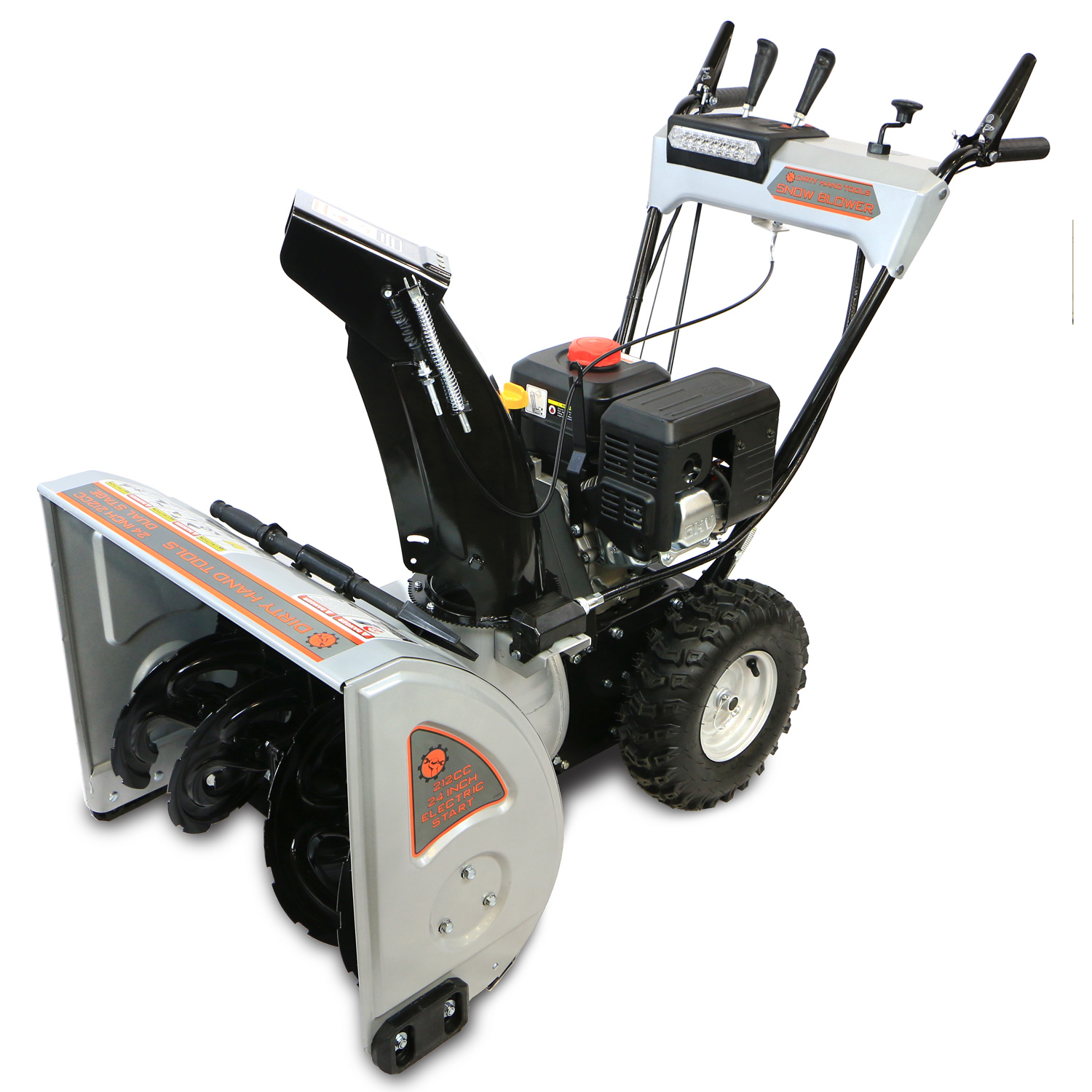 White Snow Blower Replacement Parts : ″ dual stage snow blower dirty hand tools