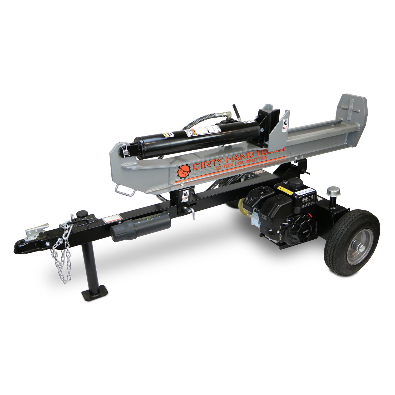 22 Ton Horizontal Vertical Log Splitter Kohler Engine