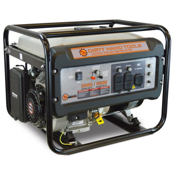 6500W Gas Powered Generator