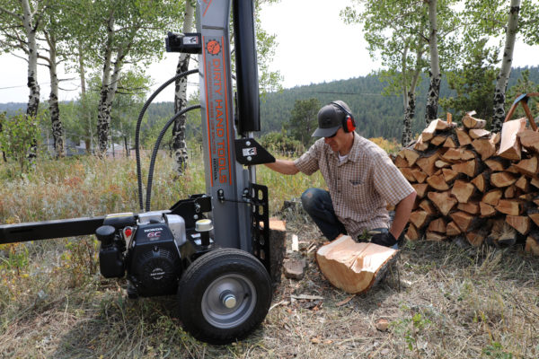 30 Ton Horizontal/Vertical Log Splitter, Honda Engine