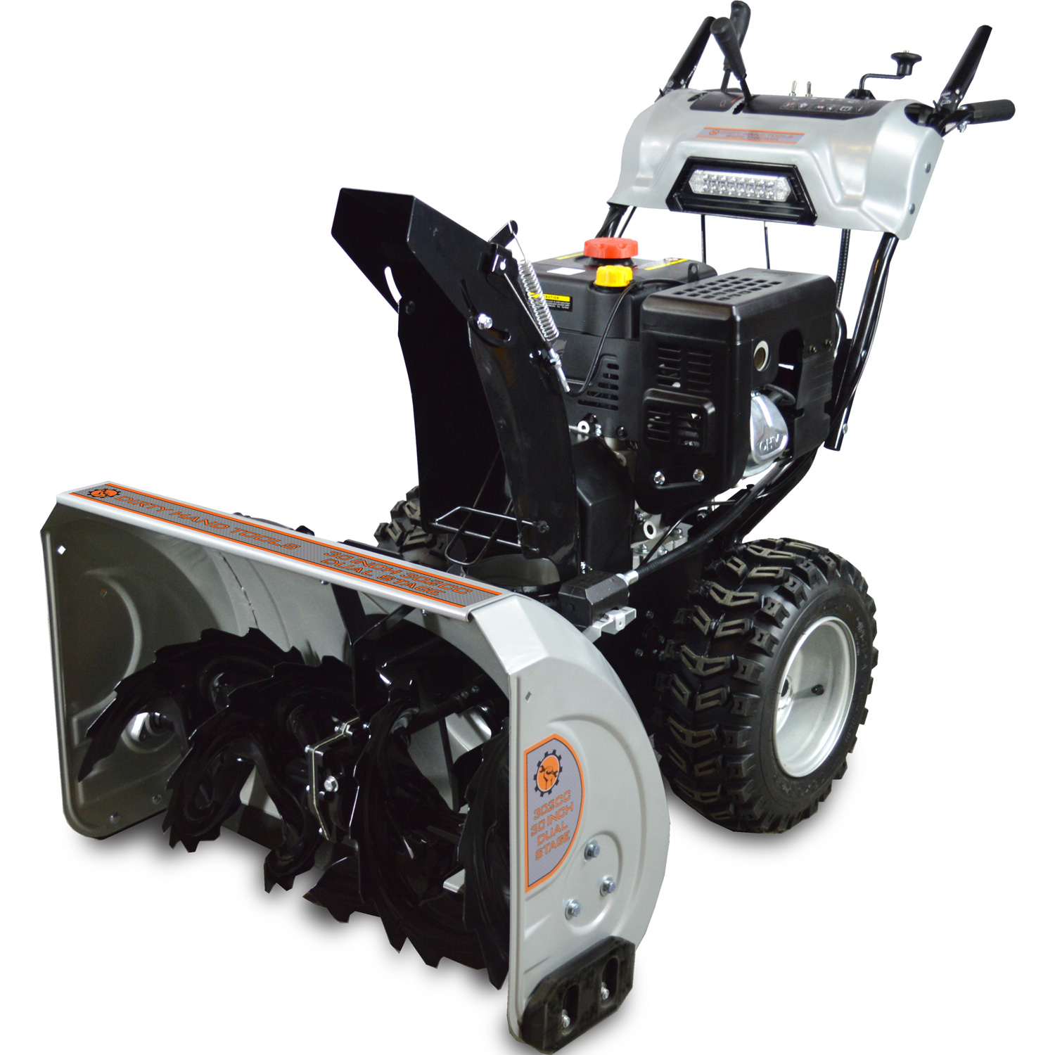 30 Dual Stage Snow Blower Dirty Hand Tools