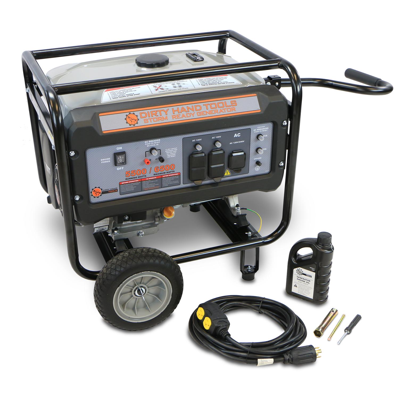 6500W Storm Ready Gas Powered Generator
