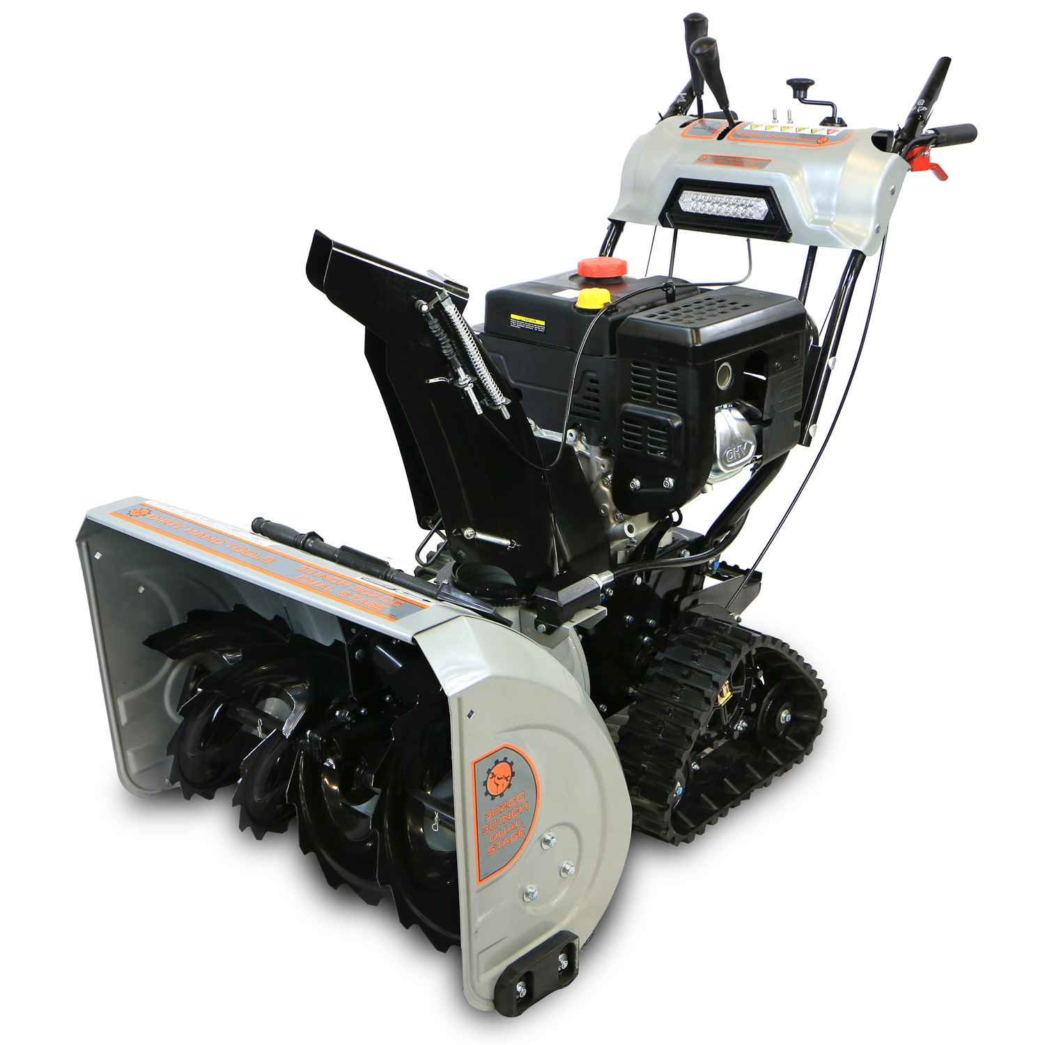 2 Stage Snowblower >> 30″ Dual Stage Snow Blower with Tracks   Dirty Hand Tools