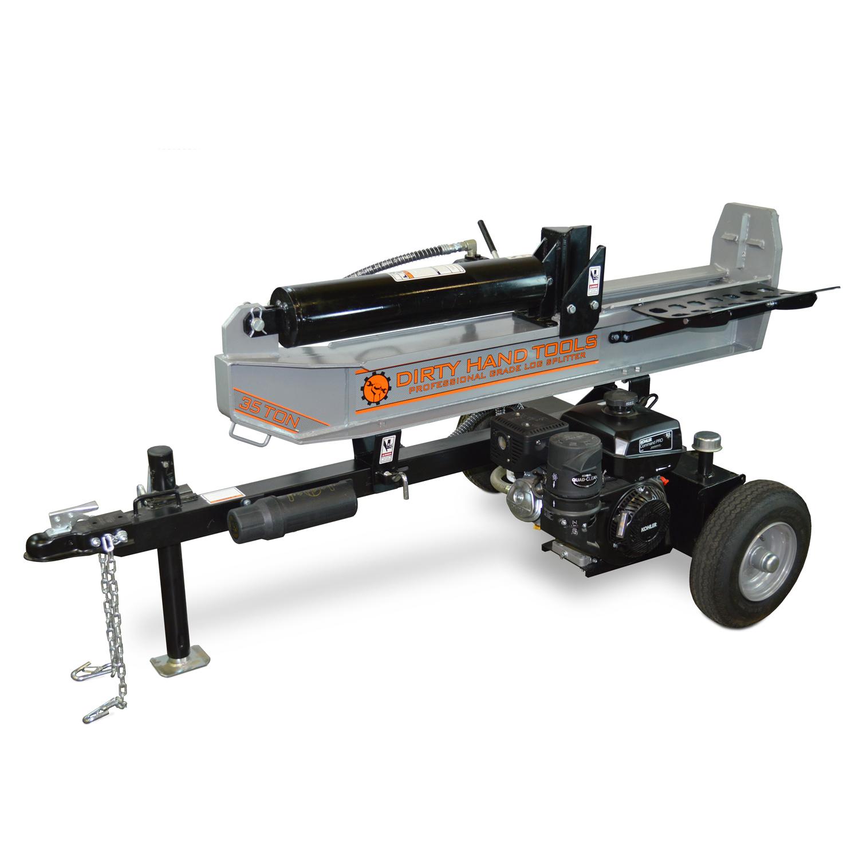 35 Ton Horizontal/Vertical Log Splitter, Kohler Engine