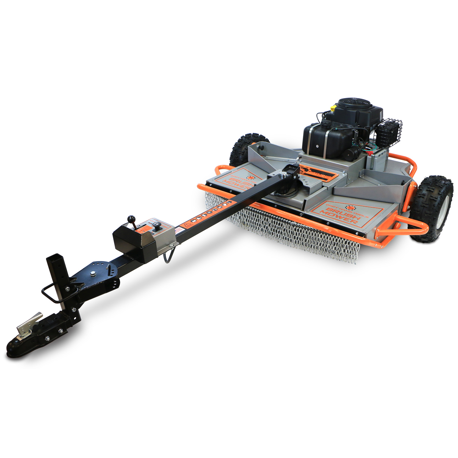Tow Behind Brush Mower Dirty Hand Tools