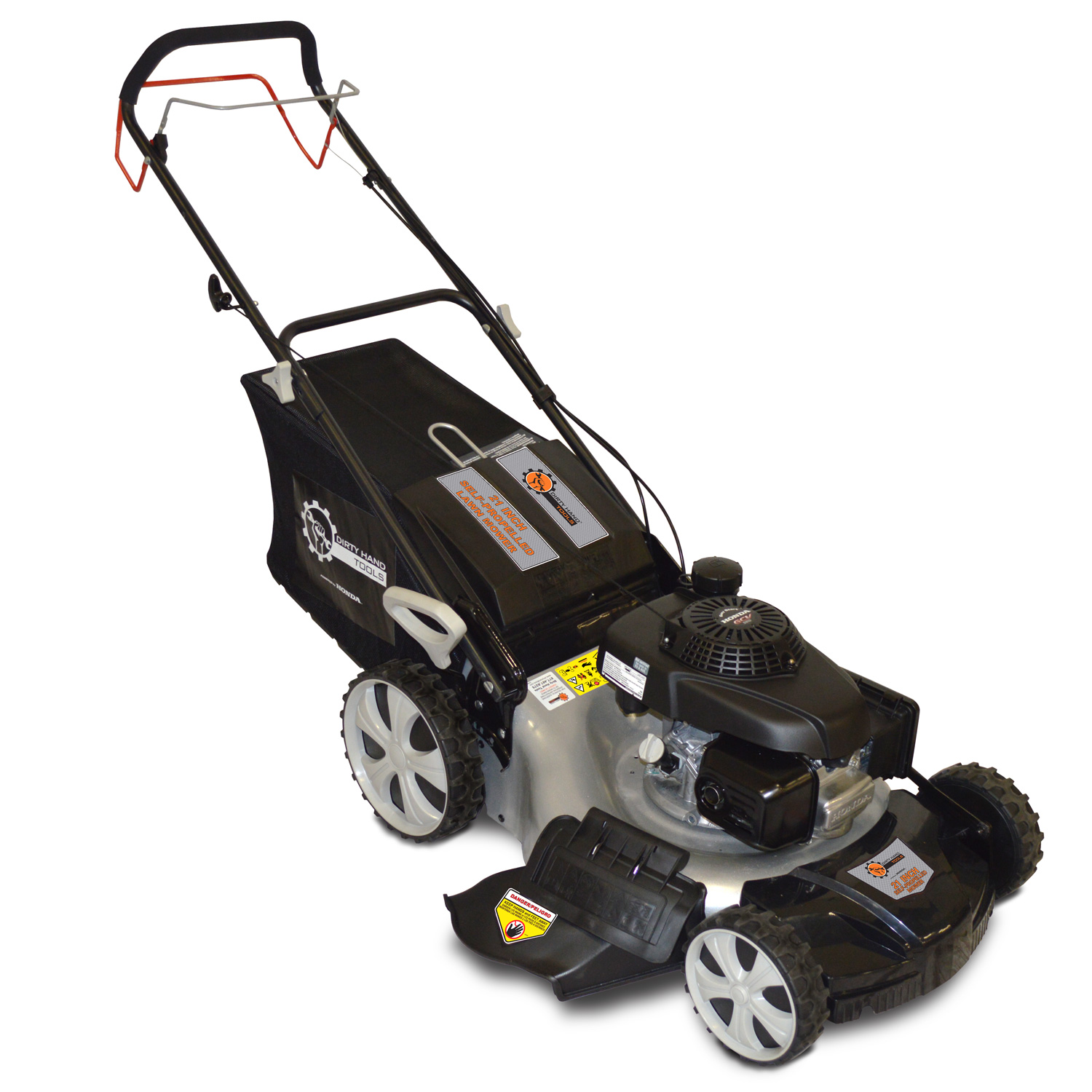 Dirty Hand Tools 21 in  self-propelled Lawn Mower - Honda Engine